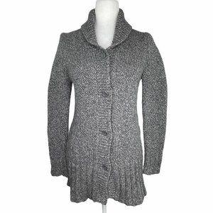 American Eagle Chunky Wool Blend Long Cardigan